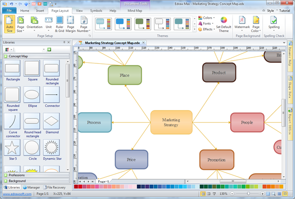 Simple Interrelationship    Diagram       Maker     Make Great