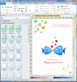 Invitation card designing invitation cards from free examples invitation card software stopboris Image collections