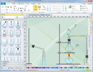 Laboratory Equipment Diagram Maker