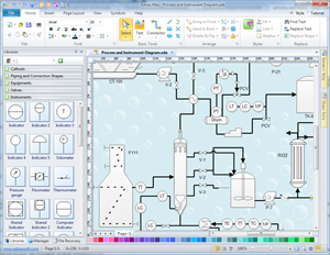 easy process and instrumentation drawing software backflow preventer diagram piping diagram program #7