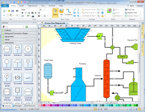 process flow diagram draw process flow by starting with pfdprocess flow diagram draw process flow by starting with pfd drawing software