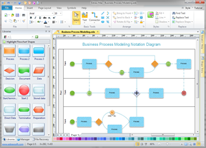 process mapping business diagram solutions