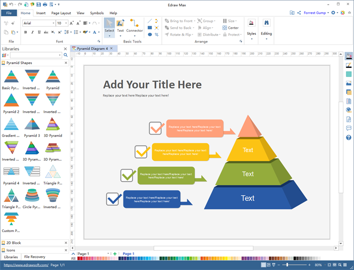 Pyramid Diagram Maker