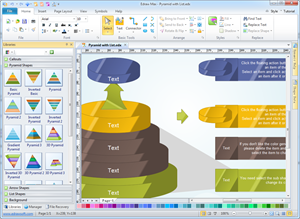 Pyramid Diagram Software