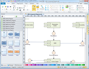 UML Component Diagram Software