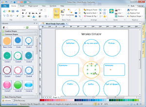 Vocabulary Graphic Organizer Maker