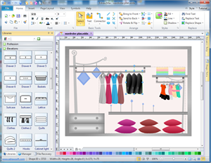 Wardrobe Plan Software