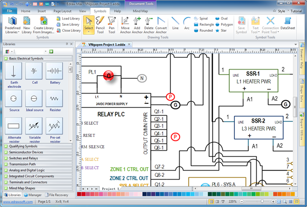 simple wiring diagram software   wiring diagrams and schematicscollection wire diagram software pictures images