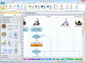 Workflow Diagramm Software