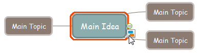 Add Mind Map Sub Shape