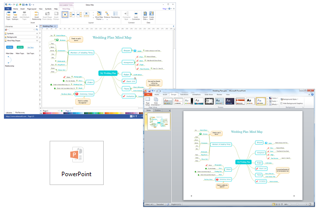 Export Mind Map to PowerPoint