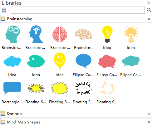 Mind Map Shapes