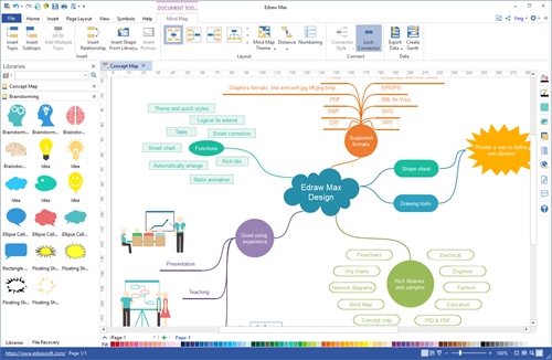 Download Edraw Mind Map Freeware on