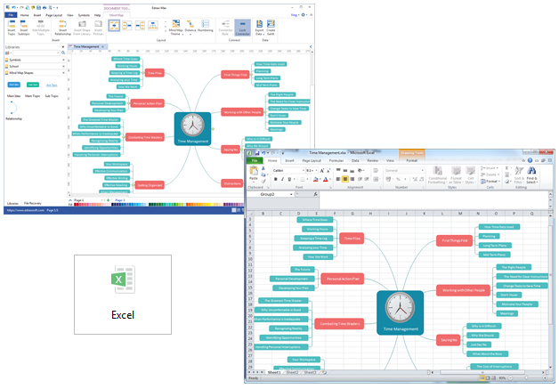 create mind map for excel