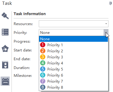 Editar una tarea prioritaria
