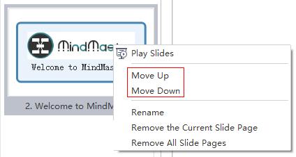 Move slides
