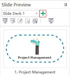 Create a new slide deck