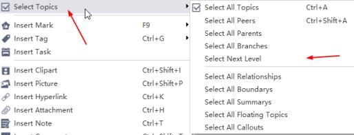 select topics