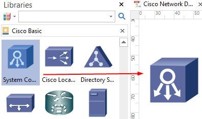 Add Network Diagram Symbols