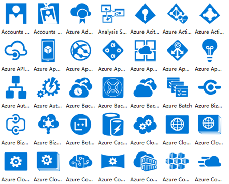 Azure Cloud Symbols