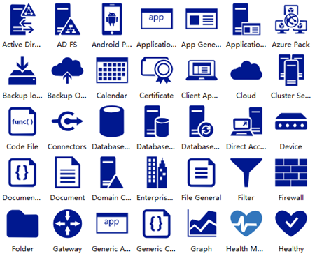 Azure Enterprise Symbols