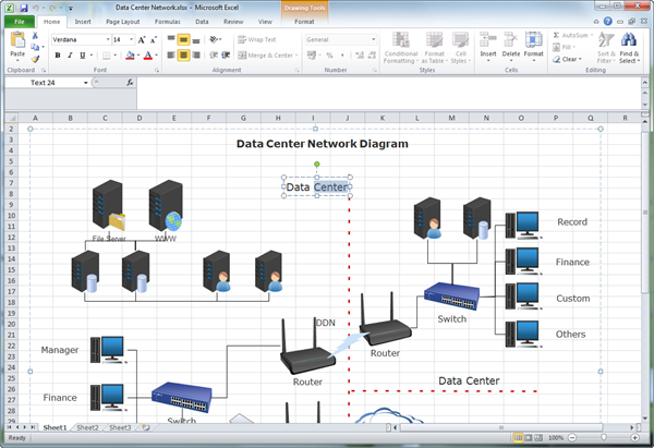 Create network diagram for excel ccuart Images