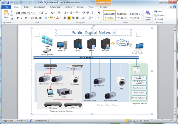 Create network diagrams for word create network diagram for word ccuart Images