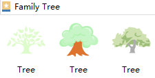 Family Tree Shapes
