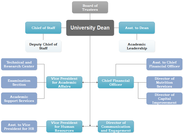 Administrative Structure of University