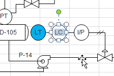 edit p&id shapes