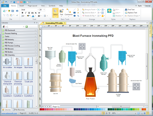 PFD Software Interface