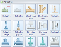 Valves Symbols Small