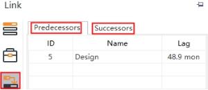 check predecessors or successors