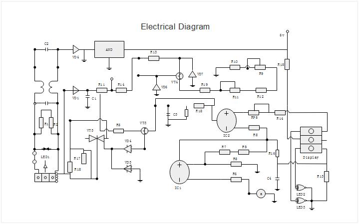 basic electrical diagram