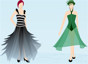 Girl Dress Design Examples