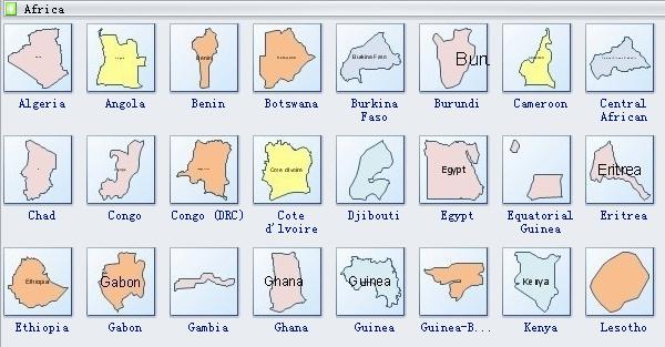 Geo Map Symbols