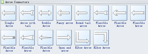 Arrows Diagram Symbols 3