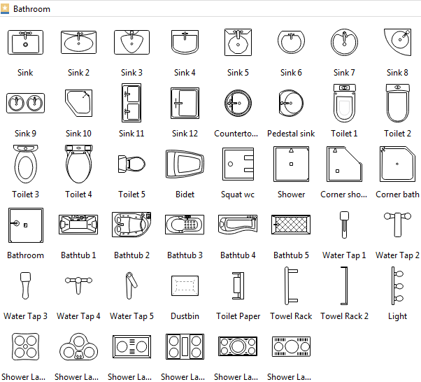 Floor plan symbols How do you read blueprints