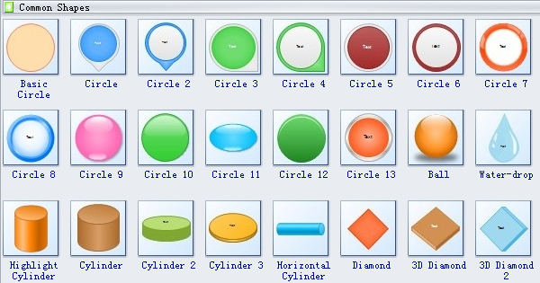Use smart 3d shapes to create professional block diagram block 3d software symbols 2 ccuart Images