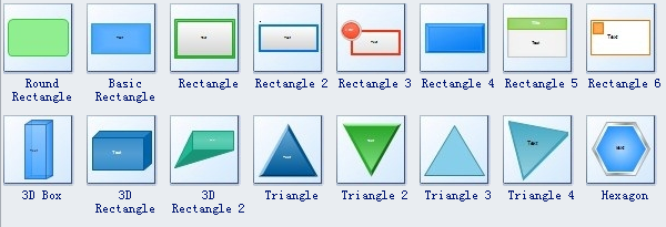 />Block 3D Software Symbols 3