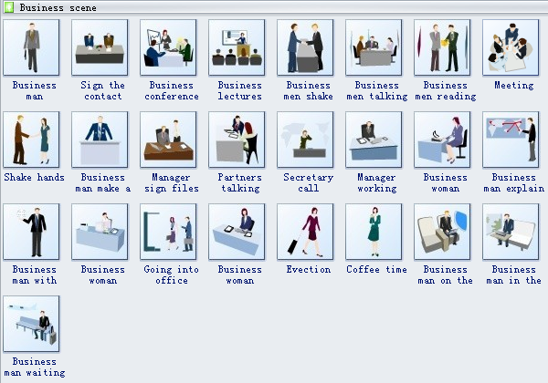 Business Card Symbols 3