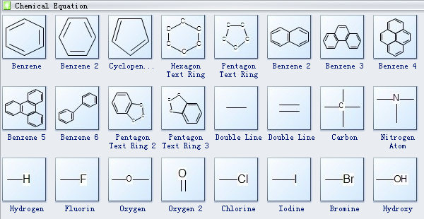 Chemistry Equation Software Symbols