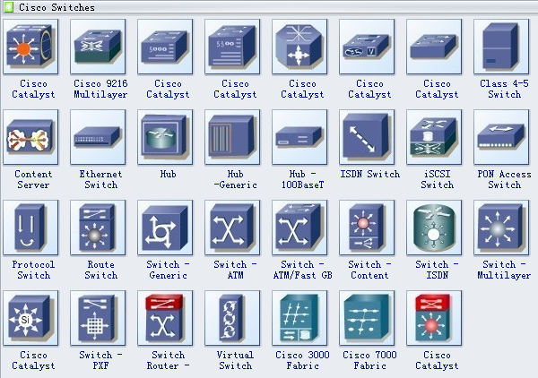 Cisco Network Diagram Symbols 4