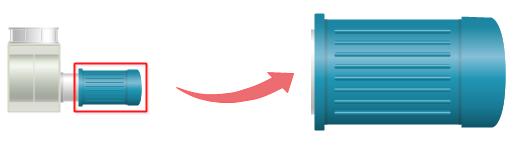 Symbole du ventilateur