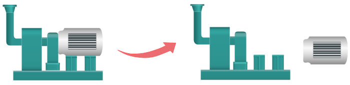 Blower Symbol Separate Shape