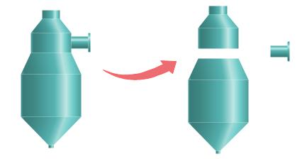 symboles chimiques sont séparables
