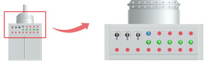 P&ID 機械記号サイズ調節