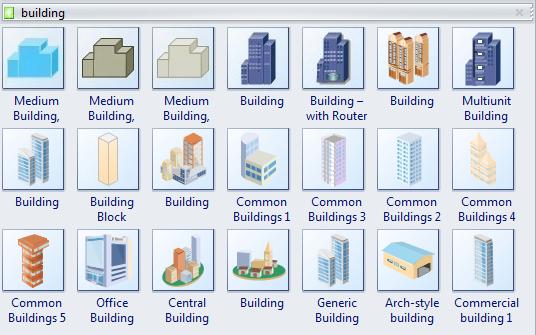 More PID Building Symbols