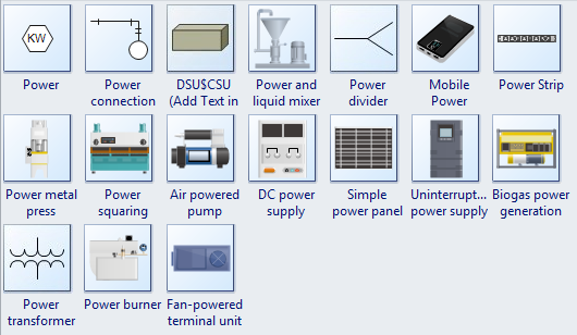 More PID Power Symbols