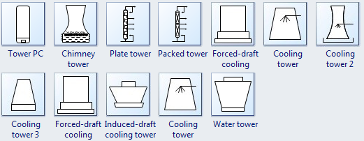 More Tower Symbols